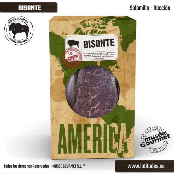 Solomillo de Bisonte Racíon (200 gr aprox.)