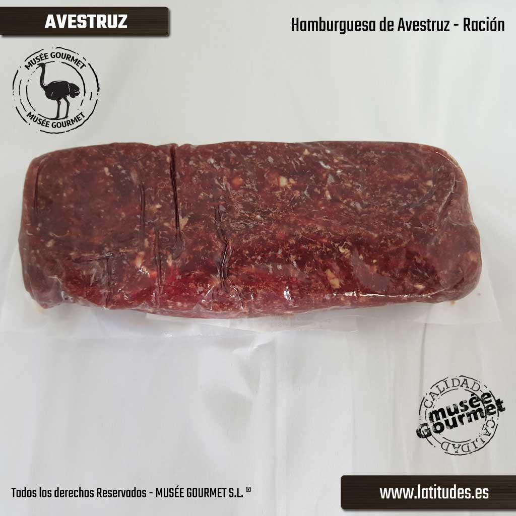 Hamburguesa de Avestruz (500 gr.)