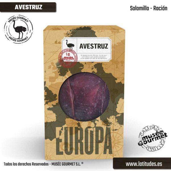 Solomillo de Avestruz Ración (200 gr aprox.)