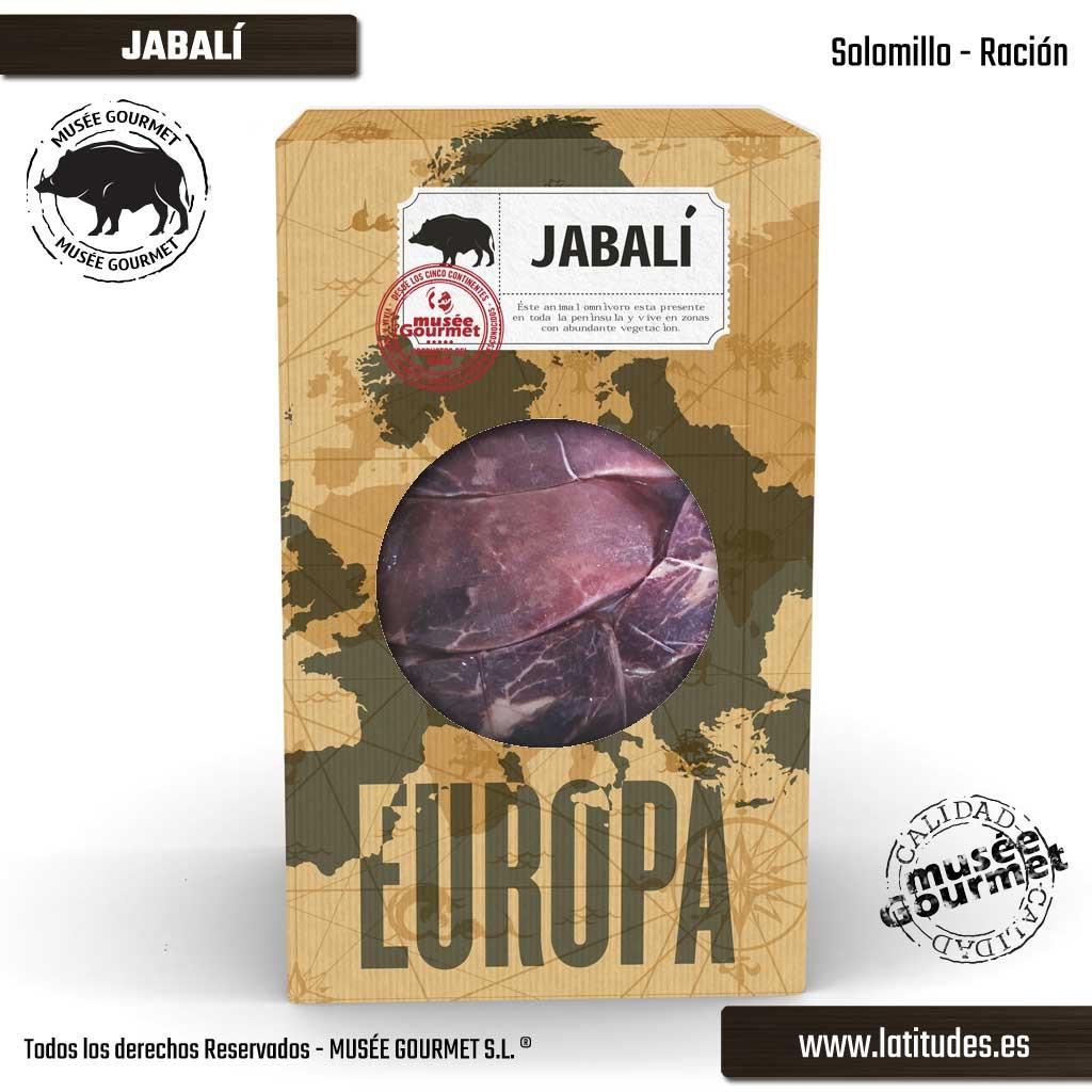 Solomillo de Jabalí Ración (380 gr aprox.)