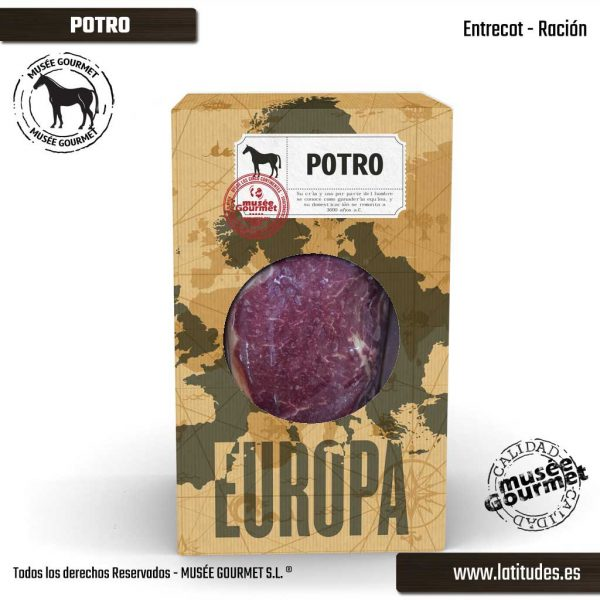 Entrecot de Potro Ración (300 gr aprox.)