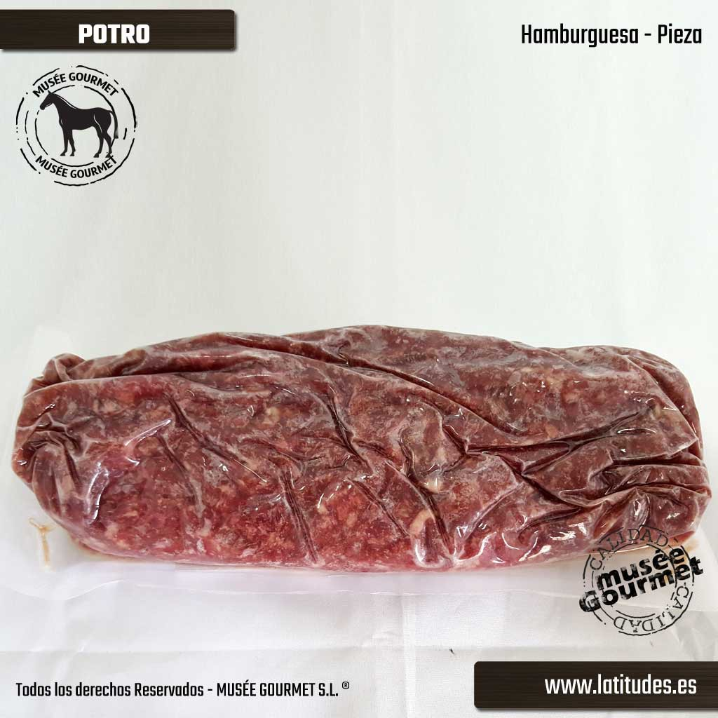 Hamburguesa de Potro (500 gr.)