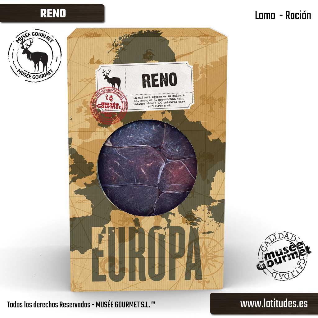 Lomo de Reno Racíon (200 gr aprox.)