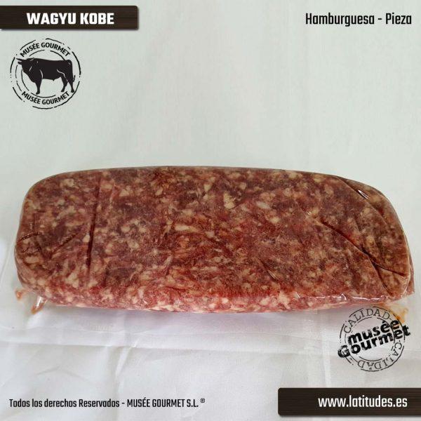 Hamburguesa de Wagyu (Kobe) (500 gr aprox)