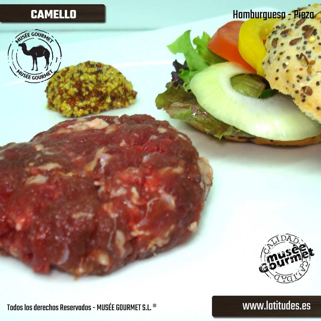 Hamburguesa de Camello (500 gr aprox)