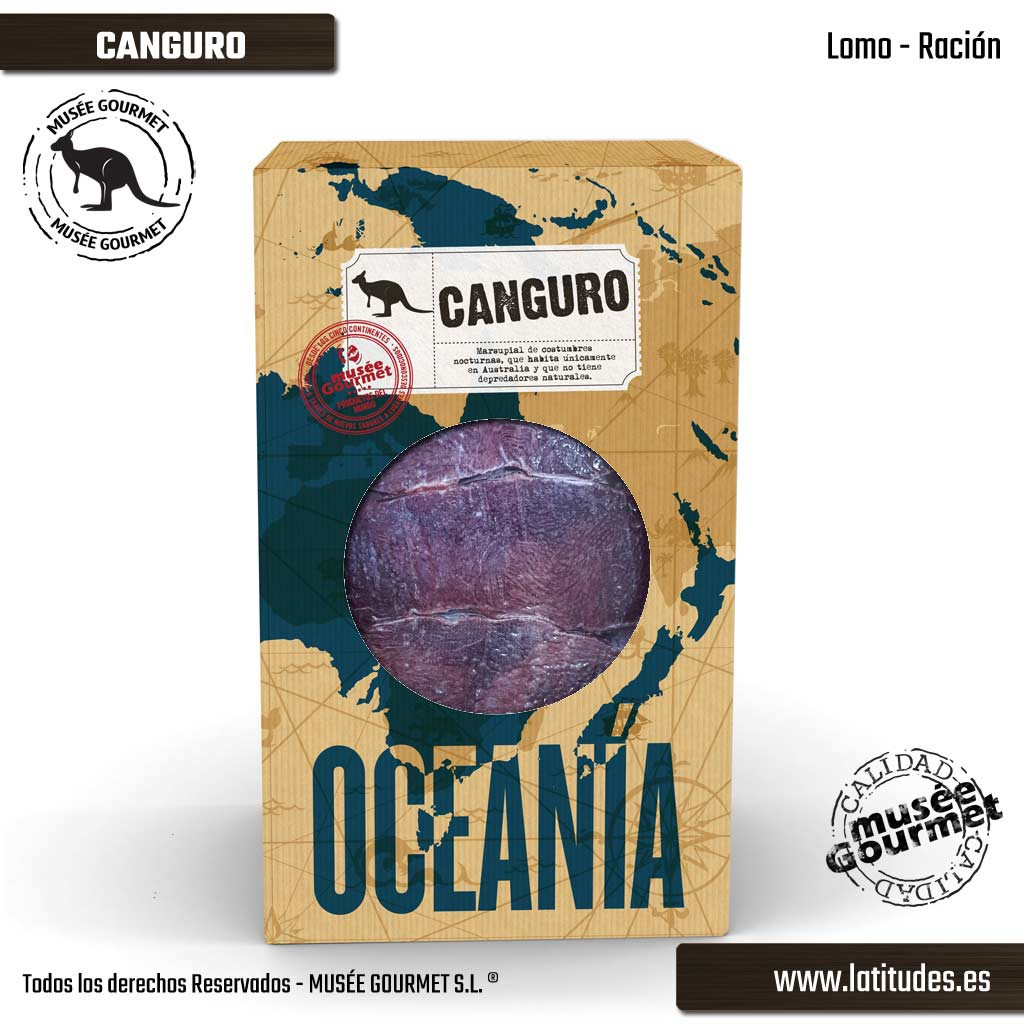 Lomo de Canguro Ración (380 gr aprox.)