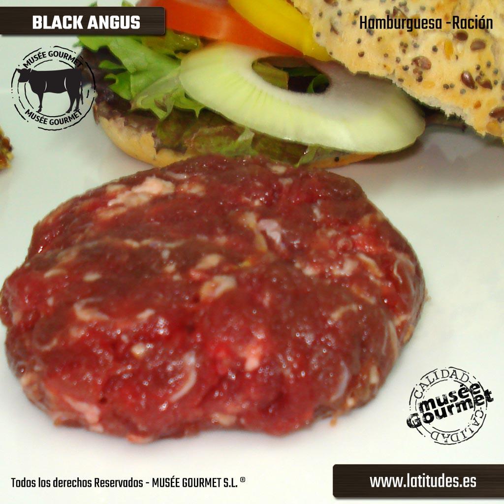 Hamburguesa de Black Angus (500 gr.)