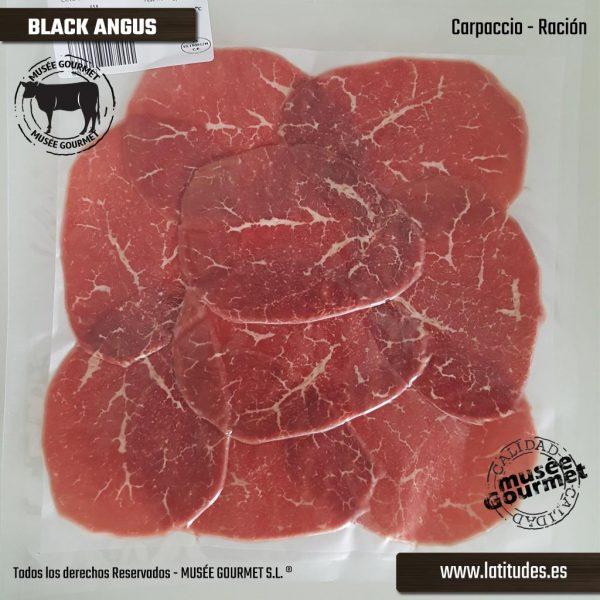 Carpaccio de Black Angus (90 gr aprox.)