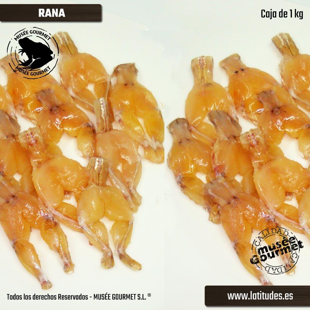 Ancas de Rana (Caja 1 kg)