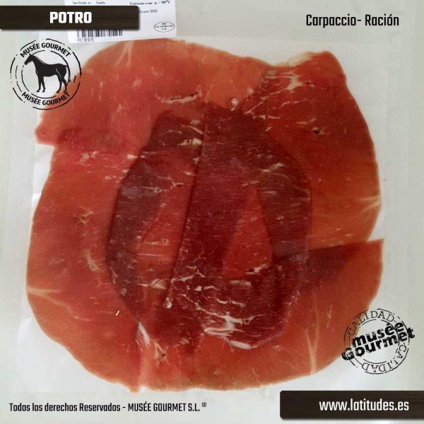 Carpaccio de Potro (90 gr aprox.)