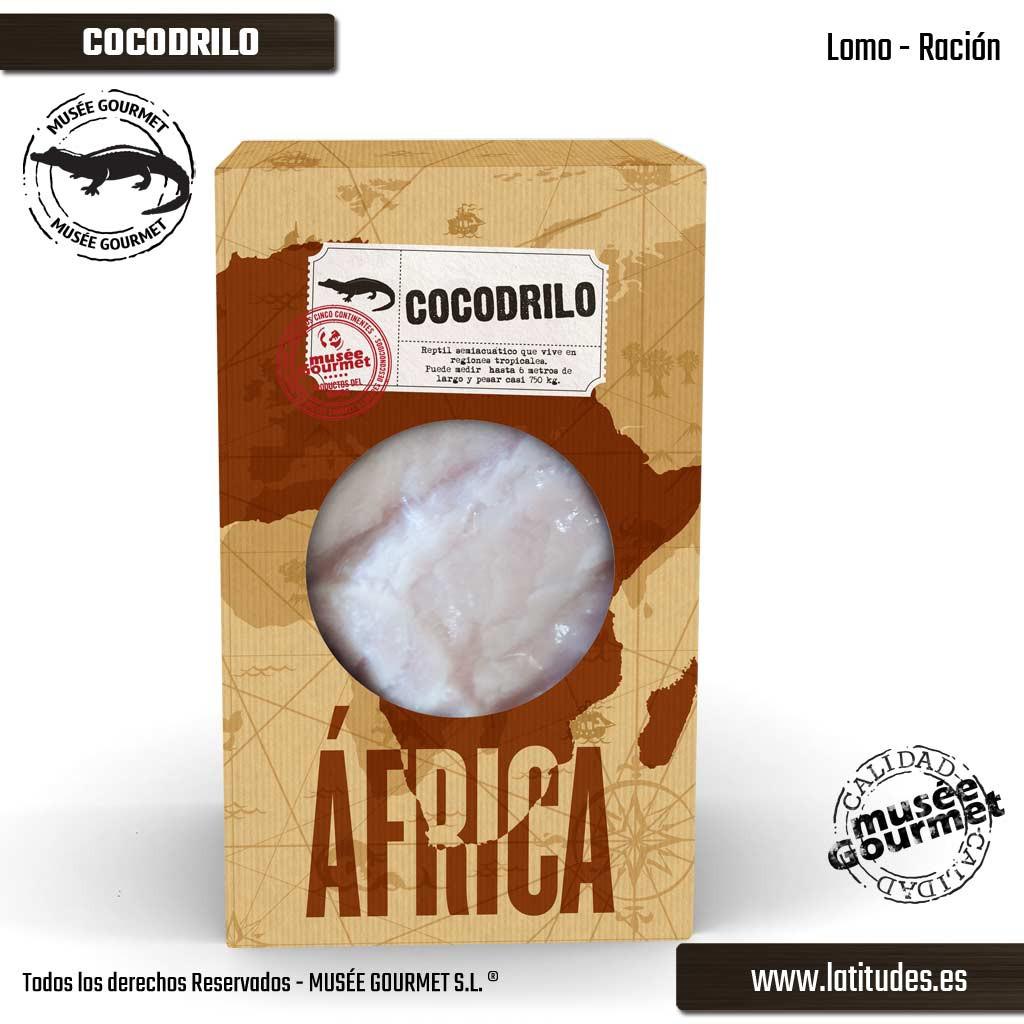 Lomo de Cocodrilo Ración (380 gr aprox.)
