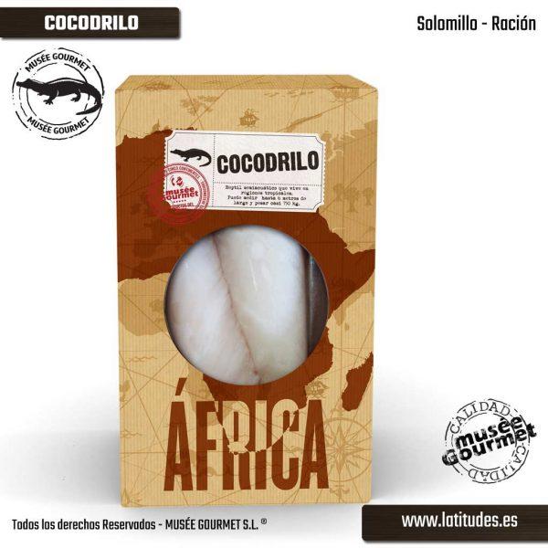 Solomillo de Cocodrilo Ración (380 gr aprox.)