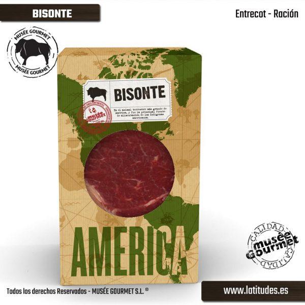 Entrecot de Bisonte Ración (200 gr aprox.)